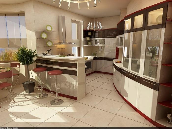 Kitchen interior march by novac natalia at for Natalia s kitchen