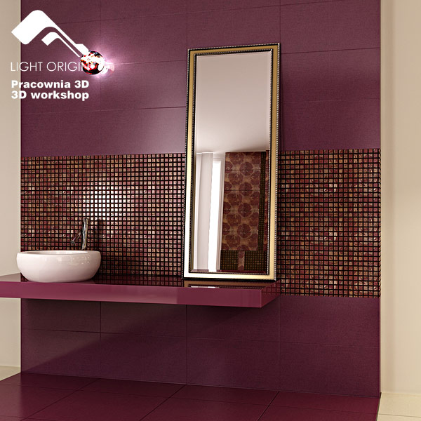 Kitchen Wall Tiles In Kerala: Modern Glamour For A Bathroom By Dheeraj Mohan At Coroflot.com