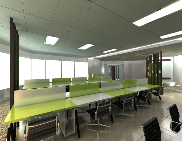 Wwf office in jakarta indonesia by gaiaarchdesign for Office design jakarta