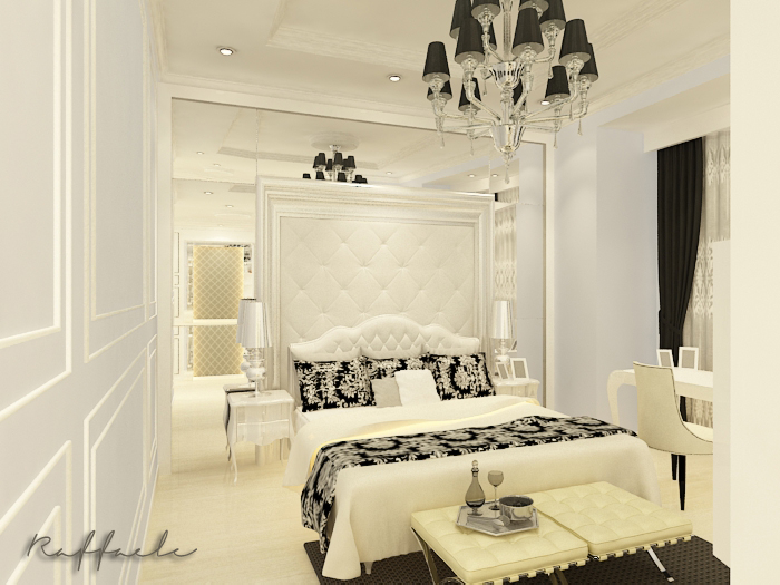american classic bedroom by raffaele interior design at