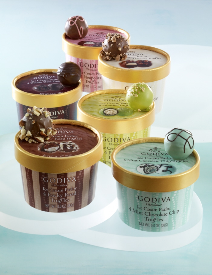 Godiva Ice Cream Parlor Truffles 2010 by Laura Dufour at ...