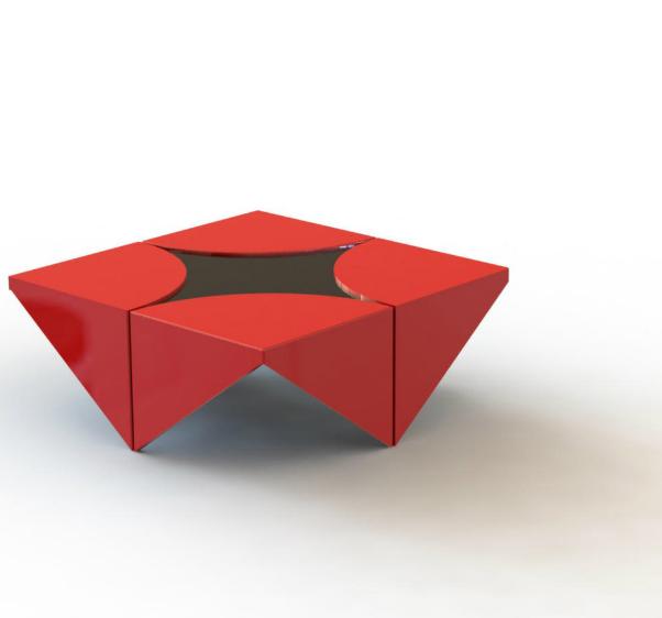 origami furniture by ilana selezneb at coroflotcom