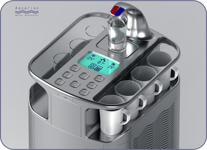 Atmospheric Water Generator ~ Atmospheric water generator by paul o keeffe at coroflot
