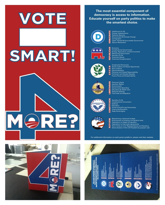 Political Brochure Project By David Bermudez At CoroflotCom