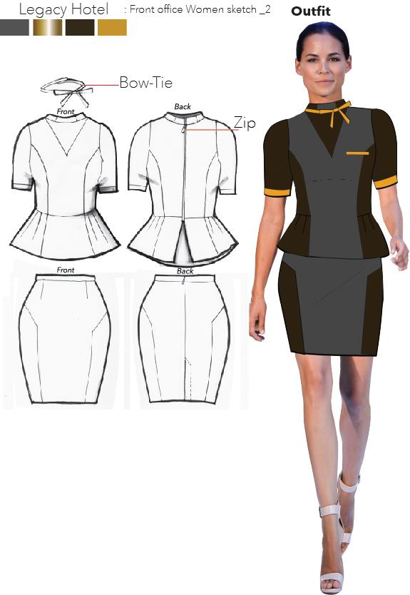 Hotel front desk uniform designs hostgarcia for Office design uniform