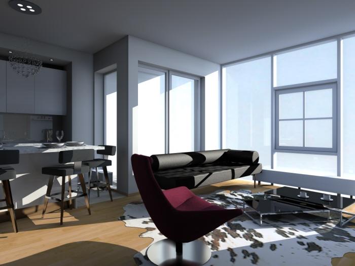 Interior design by evita gavrilova at for Design apartment riga
