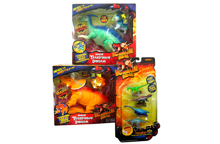 Dinosaur King Toys : Toy packaging by laura knight at coroflot