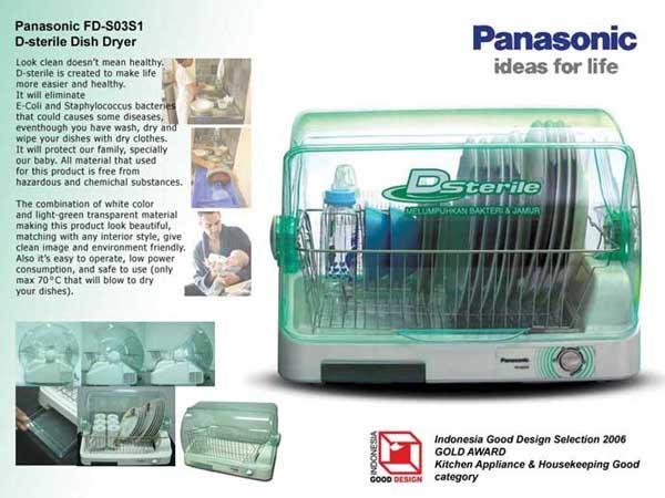 Sterilizer Panasonic Dish Dryer Panasonic D-sterile Dish