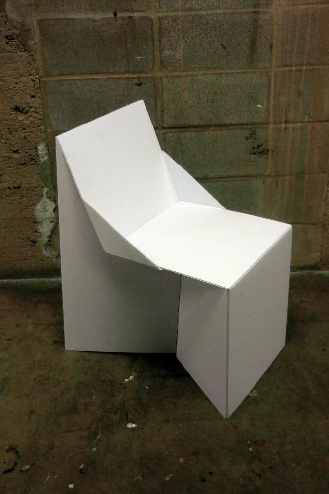 Coroplast Chair By Rebecca Cey At Coroflot Com