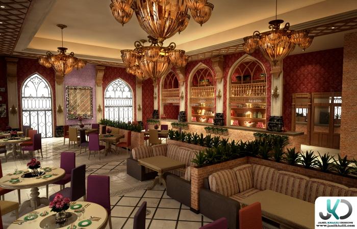 Mazaj restaurant dubai uae by jamil khalili at