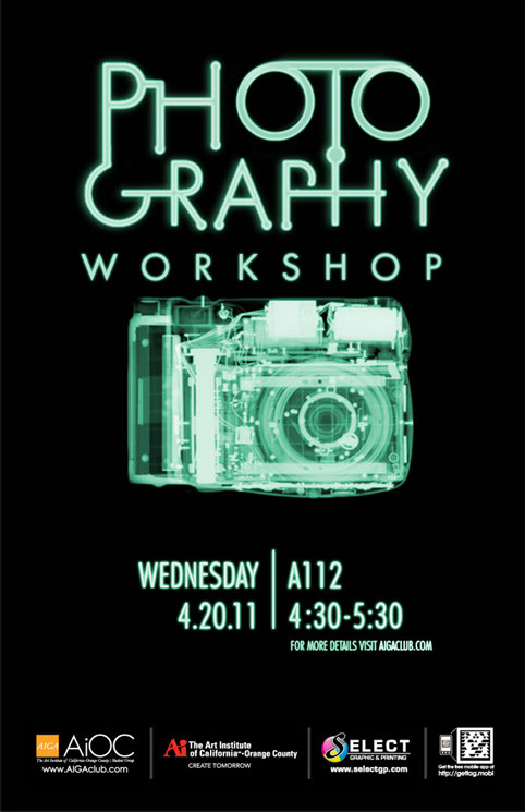 photography workshop poster by olivia ross at coroflot com