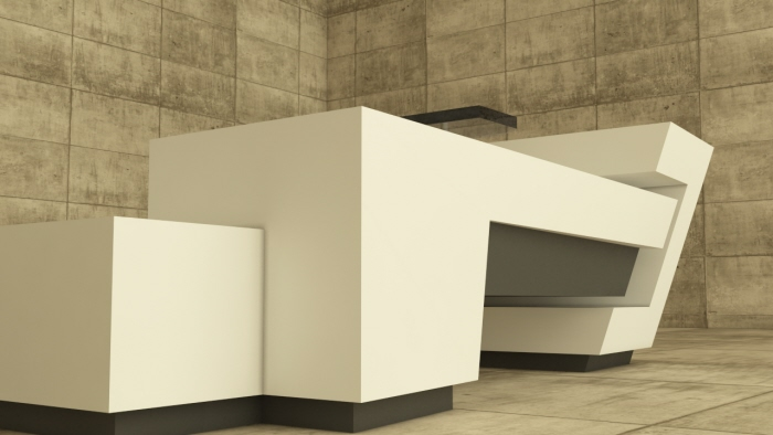 Minimal office furniture design by Mrk Csiks at Coroflotcom