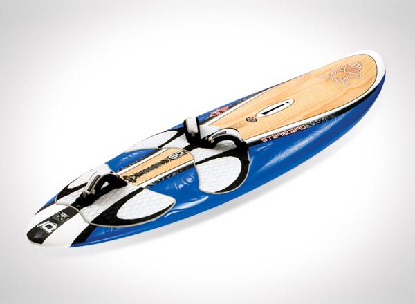 Windsurfing board design