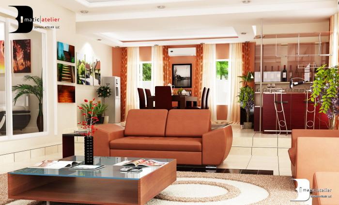 Interior design lekki nigeria by olamidun akinde at for Interior decoration house design pictures