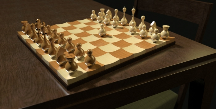 Chess boards by eric lay at - Umbra chess set ...