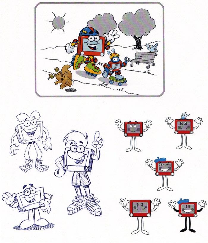 Freelance Character Designer Salary : Character design by james harmon at coroflot