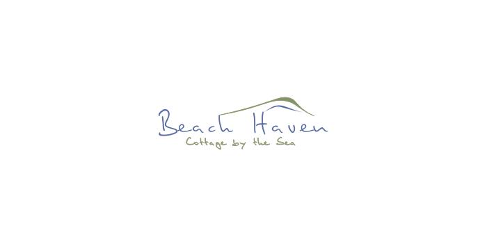 Beach Resort Logo Design Beach Haven Logo Design by