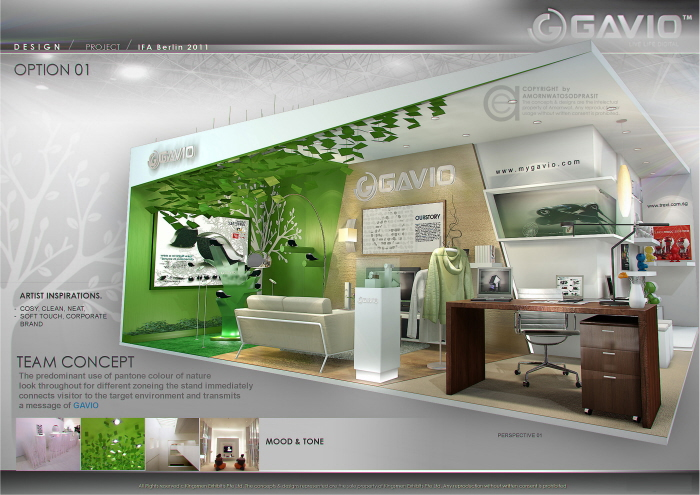 Exhibition Stand Nature : Exhibition design special booth by amornwat
