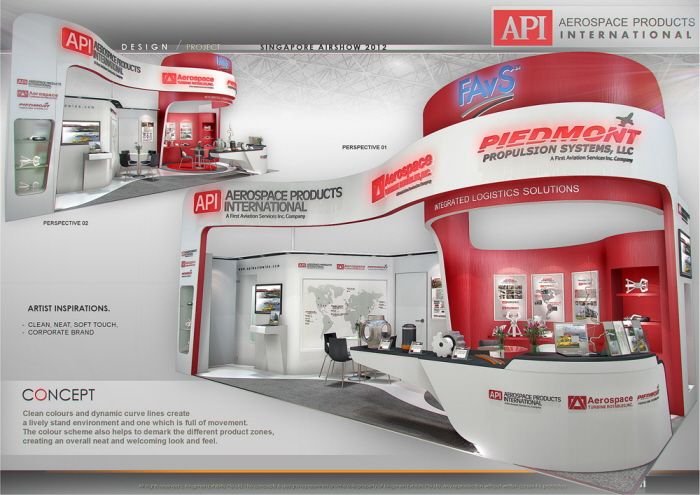 Exhibition Stand Design Kenya : Standard booth by amornwat osodprasit at coroflot