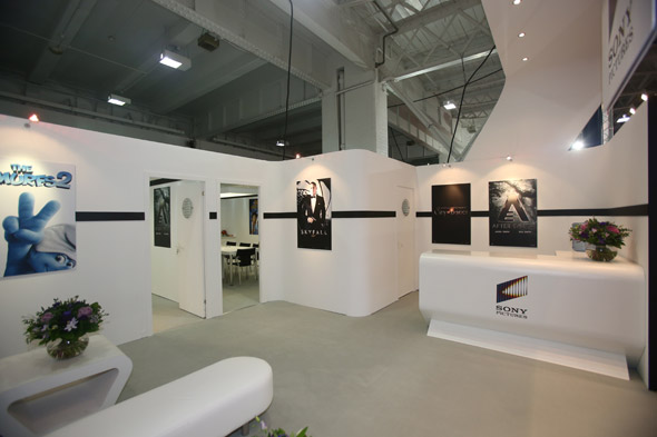 Exhibition Stand Graphics : Sony exhibition stand design by astro exhibitions at