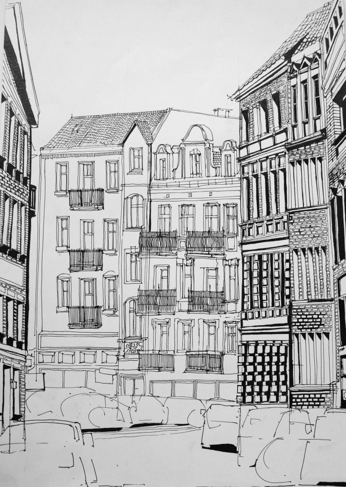 Architectural Drawings By Kasia Szybka At