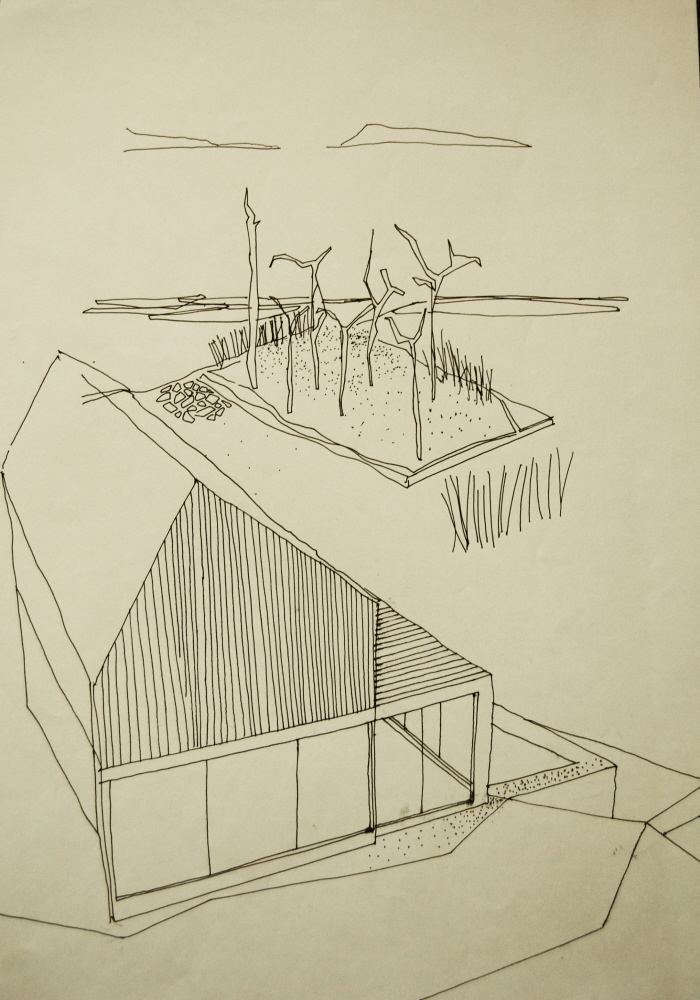 Architectural drawings by kasia szybka at for Full size architectural drawings