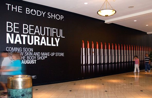 The Body Shop Crabtree Mall Barricade By Troy G Larson