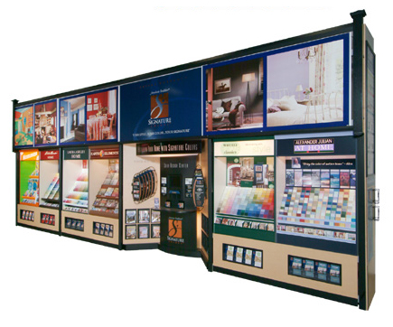Lowes Paint Chip Display System By Gregory Haye At