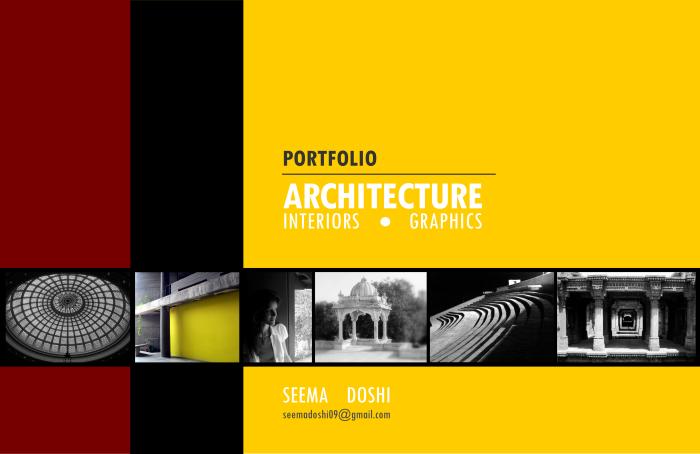 Architectural portfolio 2007 2012 by seema doshi at for Architecture portfolio dimensions