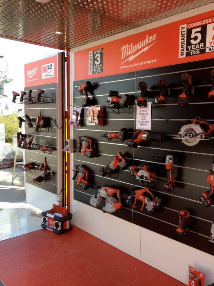 Milwaukee Tools Point Of Purchase By Craig Burton At