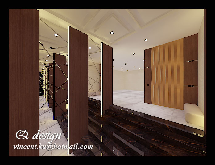 Foyer Layout Jobs : Mr aliong s foyer interior design wall panel and divider