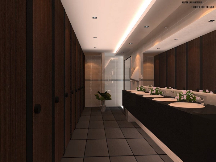 3d Exhibition Designer Jobs In Singapore : Toilet design for borneo shopping mall in sabah by