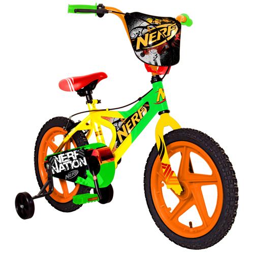 Hasbros Nerf 16 Quot Bike With Training Wheels By Elijah
