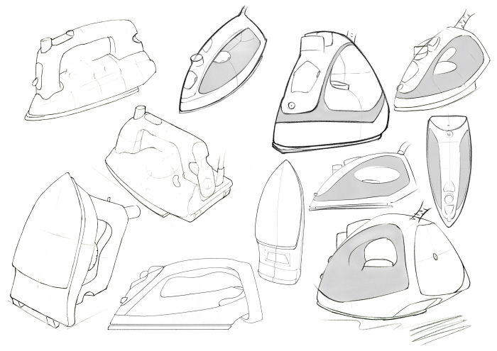 Drawing Steam Iron ~ Steam iron drawing