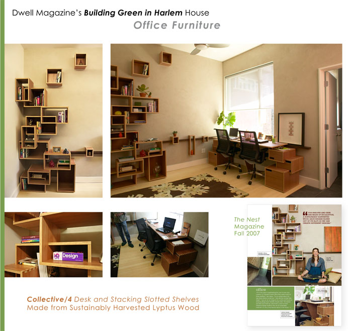 Dwell Magazines Building Green in Harlem Office by Tiffany