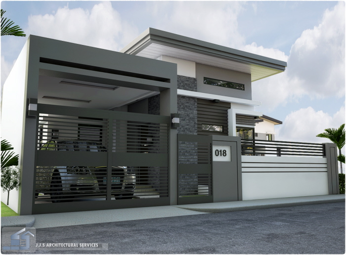 Punta verde bungalow ronald pineda by j j s architectural for 3 storey commercial building design