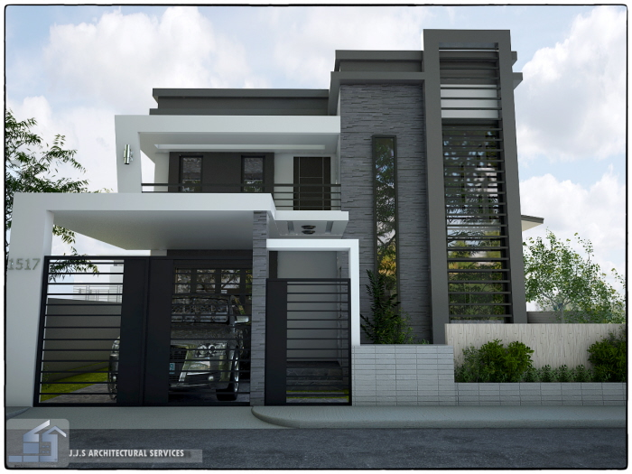 2 storey residential house by j j s architectural services for Architectural design services