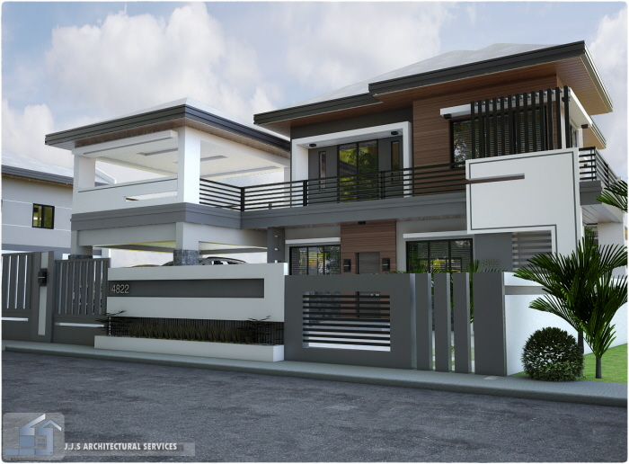 2 storey residential house rizal province by j j s for 2 story commercial building plans