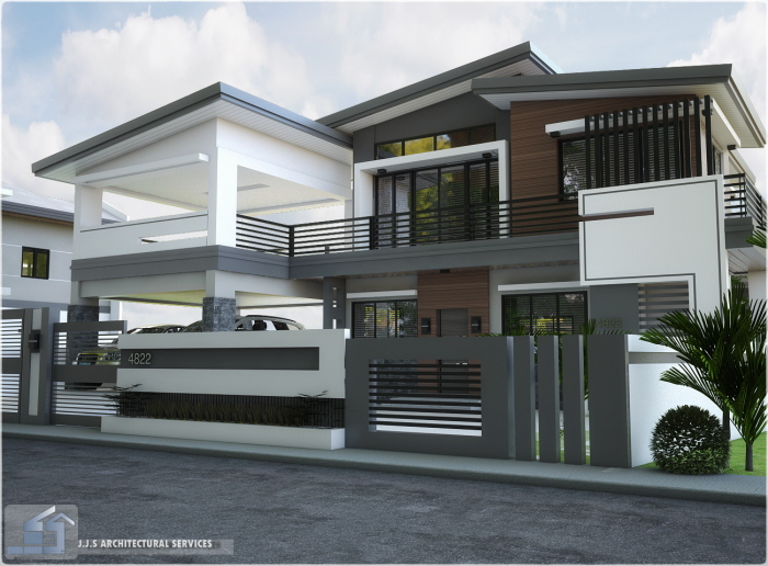 2 Storey Residential House Rizal Province By J J S