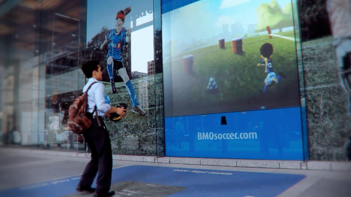 Bmo Gesture Reactive Interactive Storefront By Tim Pelz At