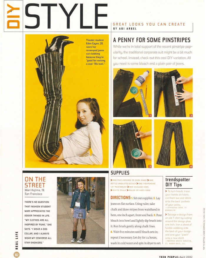 Abigail  Arbel - Brooklyn, New York - Teen People Magazine