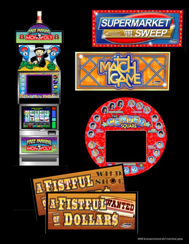 slot machine graphics