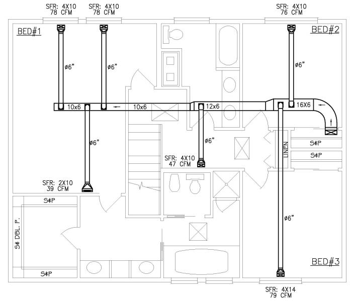 Hvac plans by raymond alberga at for Hvac plan