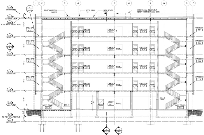 Commercial Building Plans By Raymond Alberga At