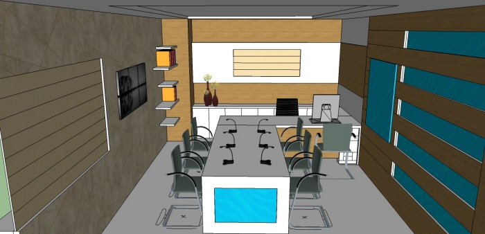 Interior DesignOffice md Cabin by Khaja Arifuddin at Coroflotcom