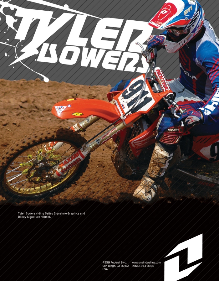 Amateur Motocross Tyler Armstrong