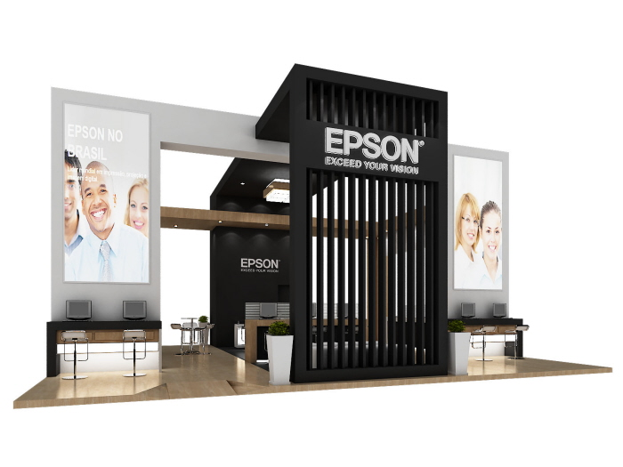 Exhibition Booth Reference : Epson autocom by tiago guedes de campos at coroflot
