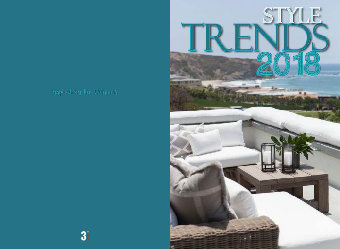 Style trends 2018 outdoor furniture by lynn borneman at for Outdoor furniture trends 2018