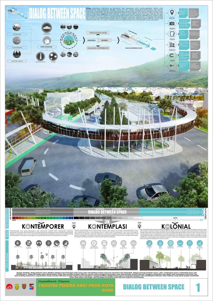 Sayembara Penjaringan Gagasan Publik Desain Fasilitas Pejalan