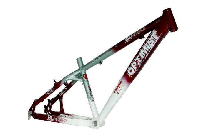 optimist bikes mtb dirt jump frame by joseph michael at coroflotcom - Dirt Jump Frame